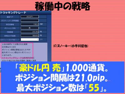 20161215トラッキングトレード検証豪ドル円売り2