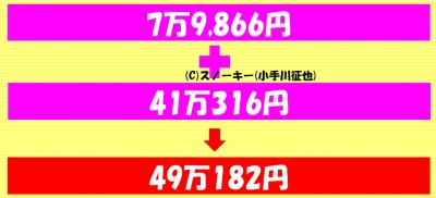 トラッキングトレード2017年1月損益合計+49万182円