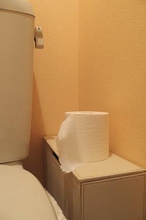 トイレットペーパーを交換しない旦那