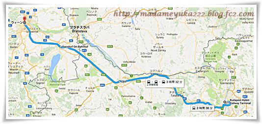 ブダペスト→ウィーン