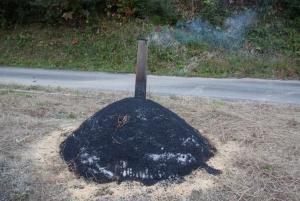 161117燻炭できた