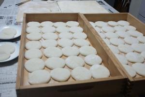 161124新米で餅作る