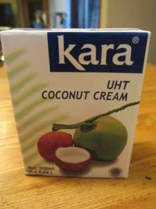 ココナッツクリーム1