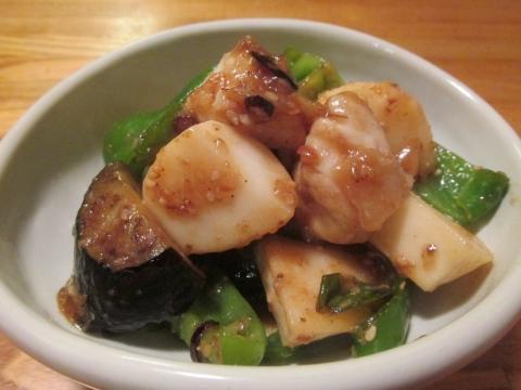 フグの胡麻味噌炒め1