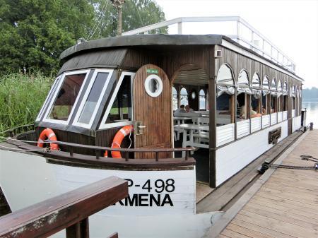 トラカイ城 遊覧船ボート2