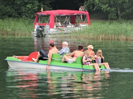 トラカイ城 遊覧船ボート15