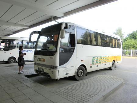 ヴィリニュス~トラカイ バス移動6