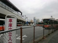現西新井営業所構内