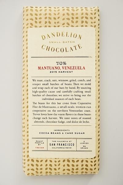 【DANDELION CHOCOLATE】MANTUANO,VENEZUELA