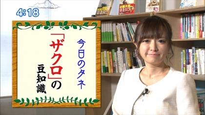 161228ザクロ朝ダネ 紺野あさ美 (5)