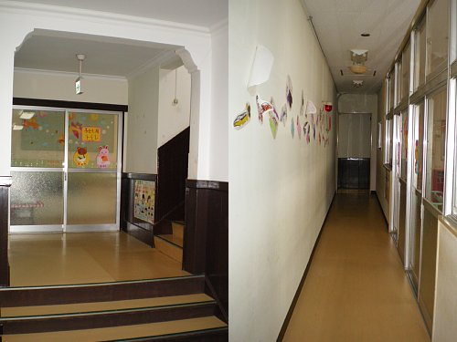 大津教会・1階回廊