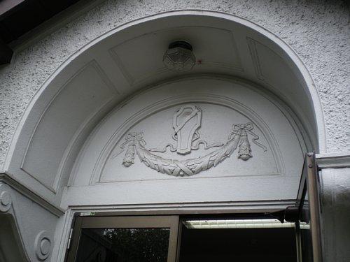 大津教会・玄関装飾