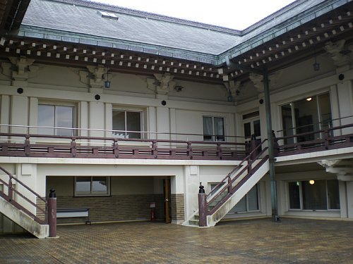 旧琵琶湖ホテル・屋上庭園