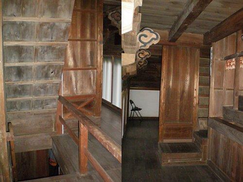 長禅寺三世堂・2-3階段