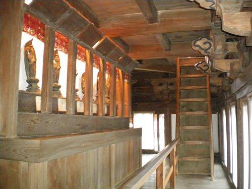 長禅寺三世堂・2階回廊3