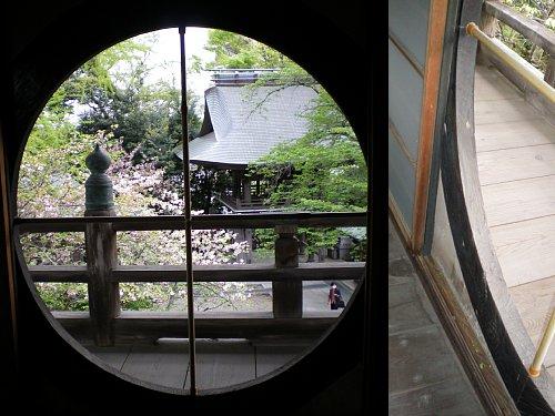 長禅寺三世堂・窓