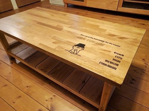 [DIY]ローテーブルを自作&ペイント