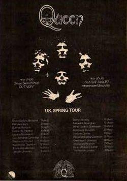queen 2 tour