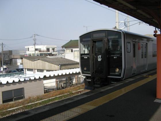 撮り鉄817系