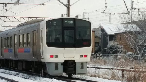 雪と811系