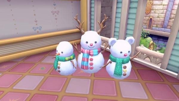基本プレイ無料のアニメチックファンタジーオンラインゲーム『幻想神域』 アバターや家具を獲得できるクリスマスイベントを開催したよ~!!