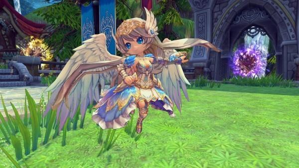 基本プレイ無料のハンティングアクションRPG『ハンターヒーロー』 ネコ耳ヘッドフォンが手に入るイベント「レムリアースの歌姫」を開催したよ~!!