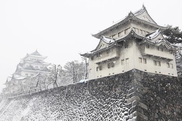 20170125 雪の名古屋城