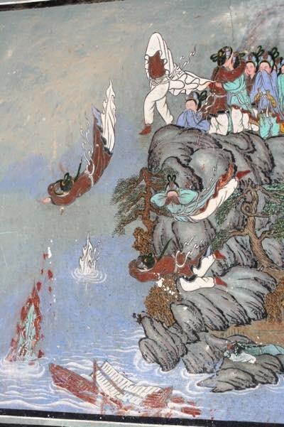 20170210 皐蘭寺壁画