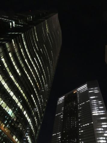 汐留シオサイトの夜景