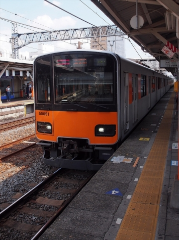 東武鉄道 50050系 電車 51051F【春日部駅】
