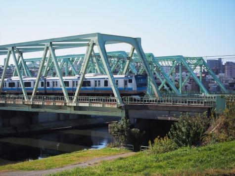 JR 東北本線 新河岸川橋梁