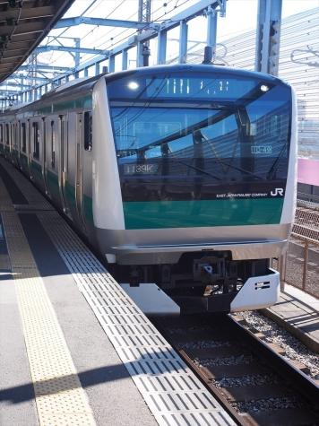JR 埼京線 E233系7000番台 電車