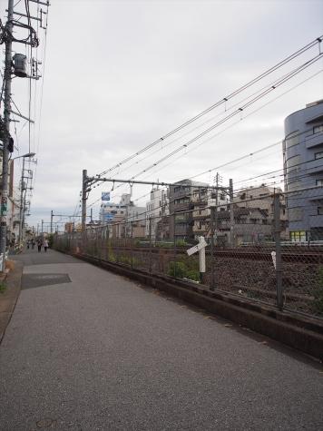 JR山手線 駒込駅近く