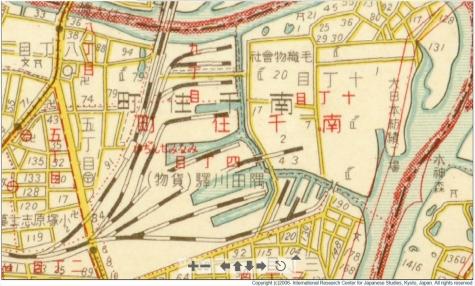 隅田川駅付近【1932年(昭和7年)】