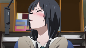 梅干しを食べた絵麻