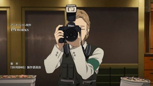 記念写真のカメラマンになった茶沢