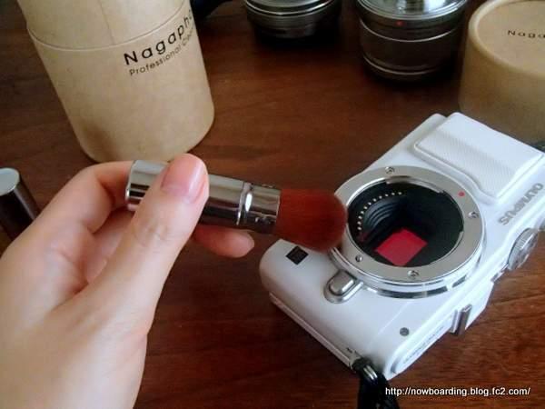 カメラクリーニングセット NAGAPHOTO ブラシ