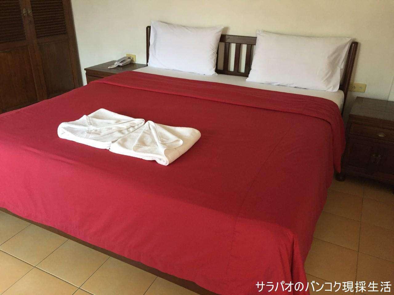 夜の出勤に便利 ホテル ニュー ニコム コート in パタヤ