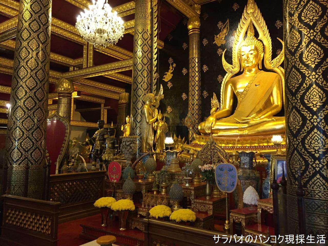 タイで最も美しい仏像が祀られているワット・ヤイ in ピッサヌローク県