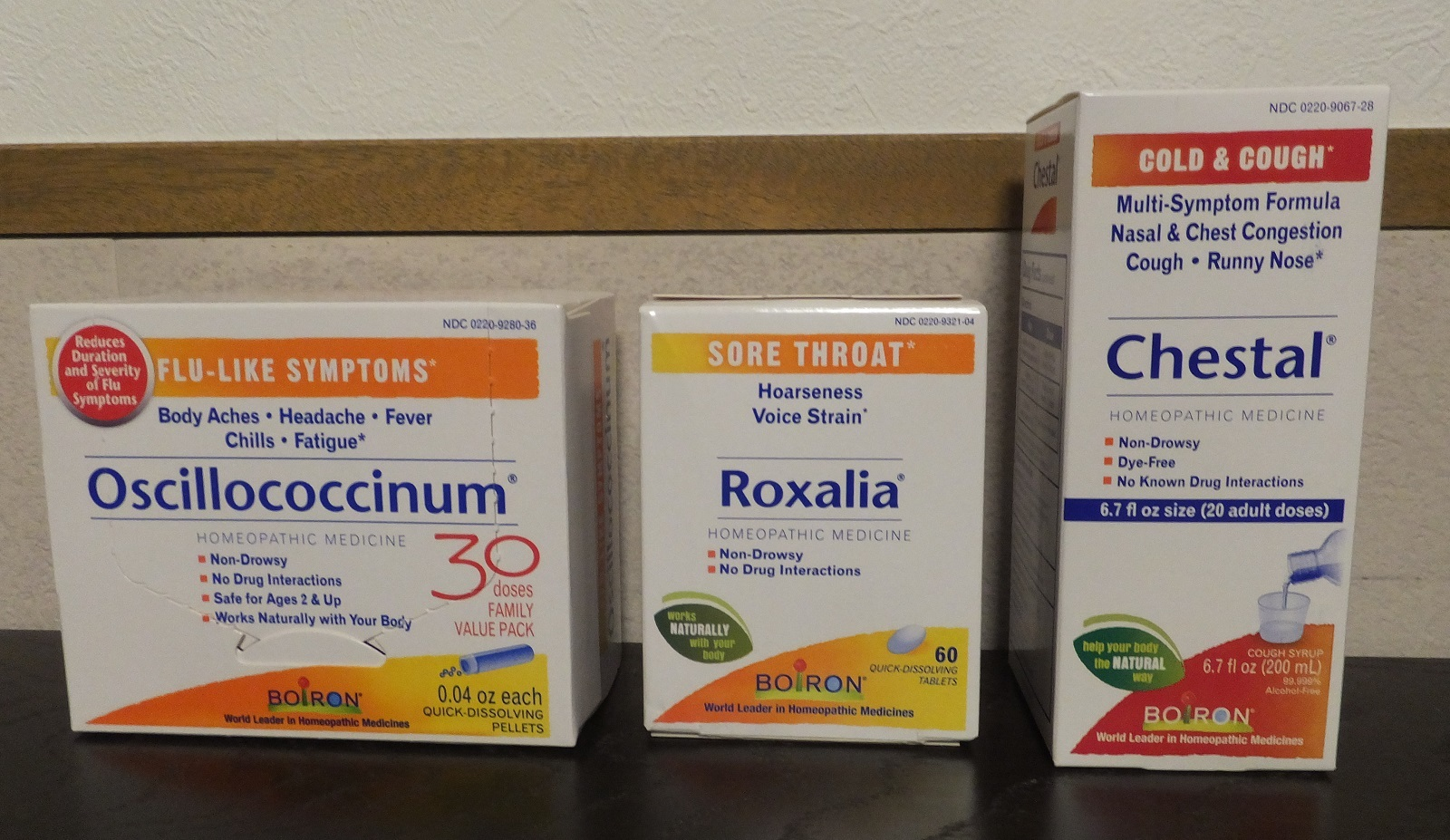 ボイロンホメオパシー風邪とインフルエンザ対策
