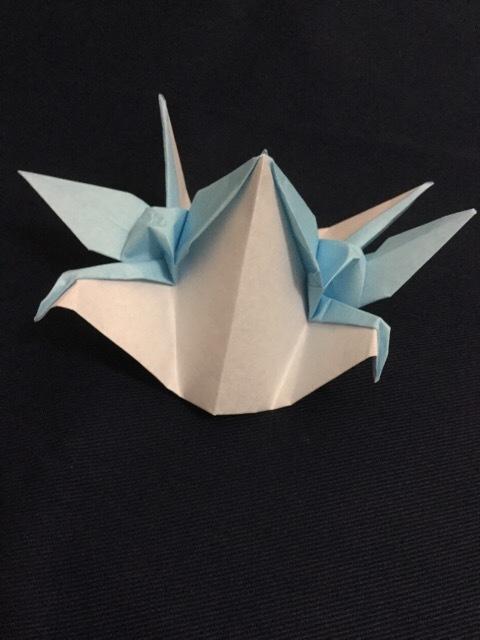 クリスマス 折り紙 折り紙 連鶴 : origamimemo.blog.fc2.com