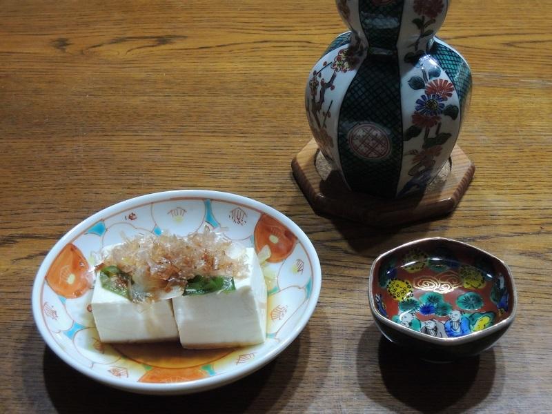 シンプルな湯豆腐