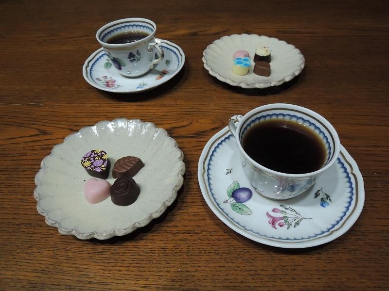 珈琲とチョコレート いただきます