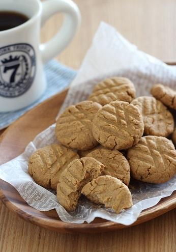 米ぬかピーナッツバタークッキー