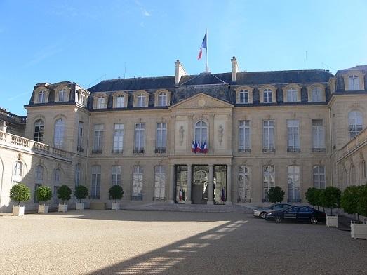 エリゼ宮殿(現在のフランス共和国大統領官邸)