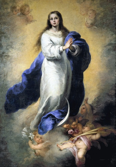聖母マリアの処女受胎