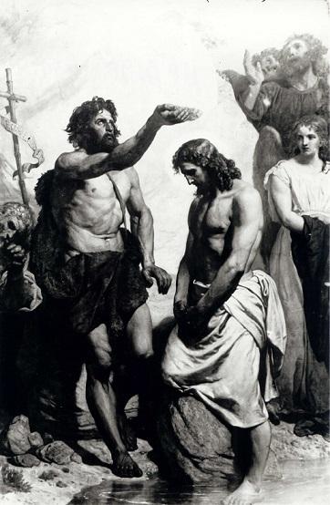 ヴォイチェフ・ゲルソン 『イエスと洗礼者ヨハネ』