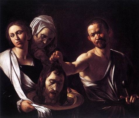 カラヴァッジオ 『ヨハネの首を持つサロメ』