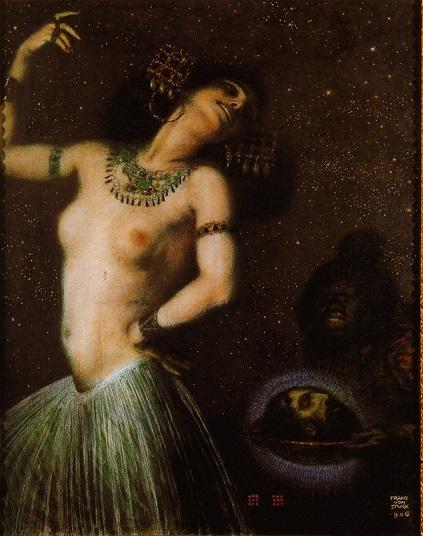 フランツ・フォン・シュトゥック 『サロメ』1906年