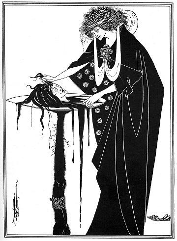 オーブリー・ビアズリーによるイラストレーション(1894)